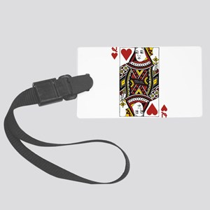 Queen of Hearts Large Luggage Tag